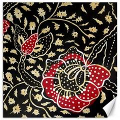 Art Batik Pattern Canvas 12  X 12   by BangZart