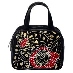 Art Batik Pattern Classic Handbags (one Side)