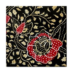 Art Batik Pattern Face Towel