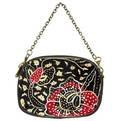 Art Batik Pattern Chain Purses (one Side)  by BangZart