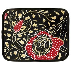 Art Batik Pattern Netbook Case (xl)