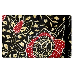 Art Batik Pattern Apple Ipad 2 Flip Case