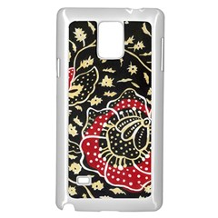 Art Batik Pattern Samsung Galaxy Note 4 Case (white) by BangZart