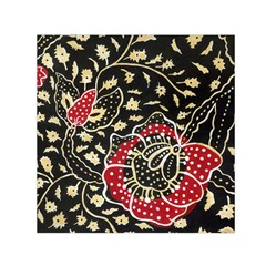 Art Batik Pattern Small Satin Scarf (square)