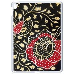 Art Batik Pattern Apple Ipad Pro 9 7   White Seamless Case