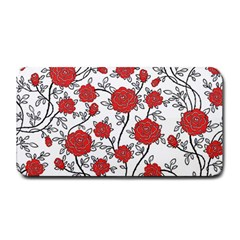 Texture Roses Flowers Medium Bar Mats by BangZart