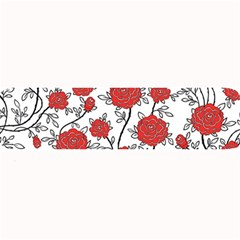 Texture Roses Flowers Large Bar Mats by BangZart