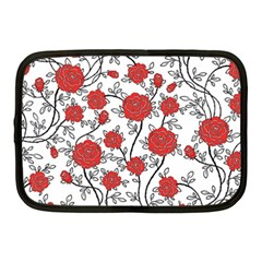 Texture Roses Flowers Netbook Case (medium)
