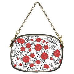 Texture Roses Flowers Chain Purses (one Side)  by BangZart