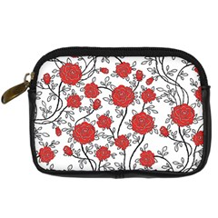 Texture Roses Flowers Digital Camera Cases