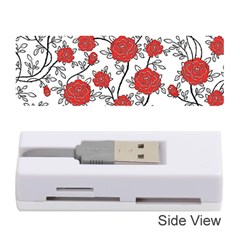 Texture Roses Flowers Memory Card Reader (stick)