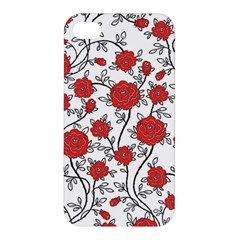 Texture Roses Flowers Apple Iphone 4/4s Hardshell Case