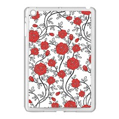 Texture Roses Flowers Apple Ipad Mini Case (white)