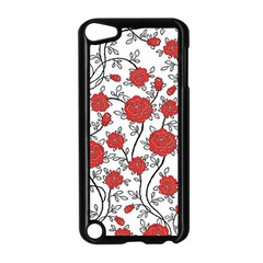 Texture Roses Flowers Apple Ipod Touch 5 Case (black) by BangZart