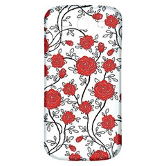 Texture Roses Flowers Samsung Galaxy S3 S Iii Classic Hardshell Back Case