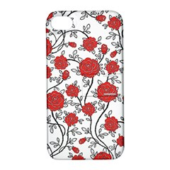 Texture Roses Flowers Apple Iphone 4/4s Hardshell Case With Stand by BangZart