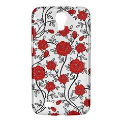 Texture Roses Flowers Samsung Galaxy Mega 6 3  I9200 Hardshell Case by BangZart
