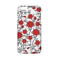 Texture Roses Flowers Apple Iphone 6/6s Hardshell Case by BangZart