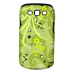 Flowers On A Green Background                      Samsung Galaxy S Ii I9100 Hardshell Case (pc+silicone) by LalyLauraFLM