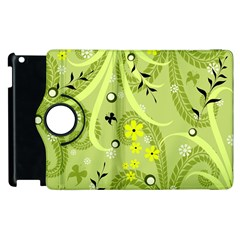 Flowers On A Green Background                      Samsung Galaxy S Iii Classic Hardshell Case (pc+silicone) by LalyLauraFLM
