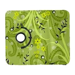Flowers On A Green Background                      Samsung Galaxy Note Ii Flip 360 Case by LalyLauraFLM