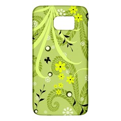Flowers On A Green Background                      Htc One M9 Hardshell Case by LalyLauraFLM