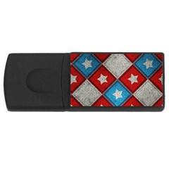 Atar Color Rectangular Usb Flash Drive