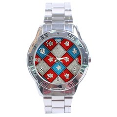 Atar Color Stainless Steel Analogue Watch by BangZart