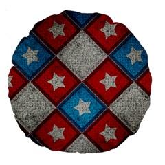 Atar Color Large 18  Premium Round Cushions