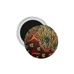Art Traditional Flower  Batik Pattern 1 75  Magnets by BangZart