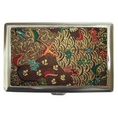 Art Traditional Flower  Batik Pattern Cigarette Money Cases