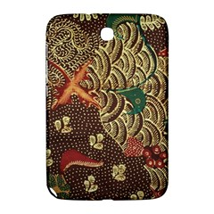 Art Traditional Flower  Batik Pattern Samsung Galaxy Note 8 0 N5100 Hardshell Case  by BangZart