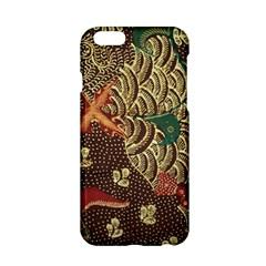 Art Traditional Flower  Batik Pattern Apple Iphone 6/6s Hardshell Case