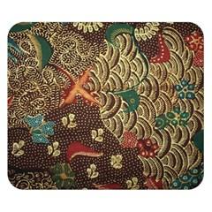 Art Traditional Flower  Batik Pattern Double Sided Flano Blanket (small)