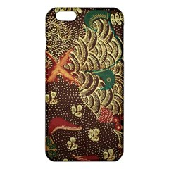 Art Traditional Flower  Batik Pattern Iphone 6 Plus/6s Plus Tpu Case