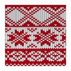 Crimson Knitting Pattern Background Vector Medium Glasses Cloth