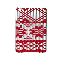 Crimson Knitting Pattern Background Vector Ipad Mini 2 Hardshell Cases by BangZart