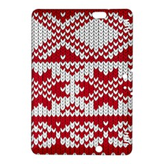 Crimson Knitting Pattern Background Vector Kindle Fire Hdx 8 9  Hardshell Case by BangZart