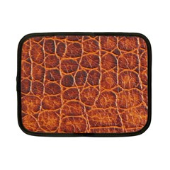 Crocodile Skin Texture Netbook Case (small)  by BangZart