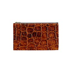Crocodile Skin Texture Cosmetic Bag (small)  by BangZart