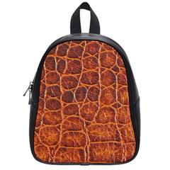 Crocodile Skin Texture School Bags (small)