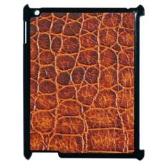 Crocodile Skin Texture Apple Ipad 2 Case (black) by BangZart