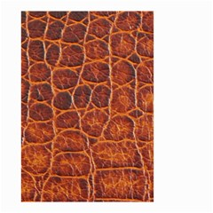 Crocodile Skin Texture Small Garden Flag (two Sides) by BangZart