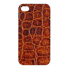 Crocodile Skin Texture Apple Iphone 4/4s Premium Hardshell Case by BangZart