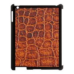 Crocodile Skin Texture Apple Ipad 3/4 Case (black) by BangZart