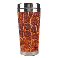 Crocodile Skin Texture Stainless Steel Travel Tumblers by BangZart