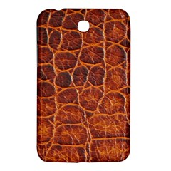 Crocodile Skin Texture Samsung Galaxy Tab 3 (7 ) P3200 Hardshell Case  by BangZart