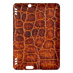 Crocodile Skin Texture Kindle Fire Hdx Hardshell Case by BangZart