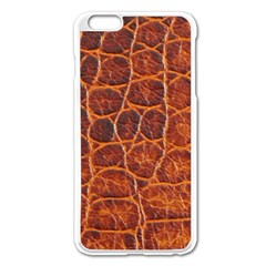 Crocodile Skin Texture Apple Iphone 6 Plus/6s Plus Enamel White Case by BangZart