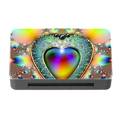 Rainbow Fractal Memory Card Reader With Cf